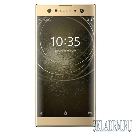 Sony H4213 Xperia XA2 Ultra DS Gold {6'' (1920x1080)IPS/Snapdragon 630/32Gb/4Gb/3G/4G/23MP+16MP/Android 8.0}