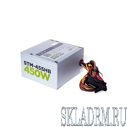 Блоки питания STM-45SHB 450W, ATX, 120mm ball bearing, 2xSATA