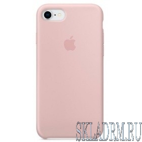 MQGQ2ZM/A Apple iPhone 8 / 7 Silicone Case - Pink Sand