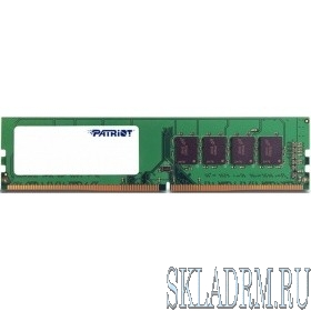Patriot DDR4 DIMM 8GB PSD48G266681 PC4-21300, 2666MHz