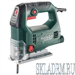 Metabo STEB 65 Quick Лобзик [601030500] { 450вт,600-3100/м,мтн,кейс, вес 1.9кг }
