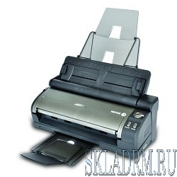 Xerox DocuMate 3115 {A4, sheet-fed, mobile, 15 ppm, Duplex, 600x600 dpi, USB 2.0, max 500 pages per day} (DM3115B#)