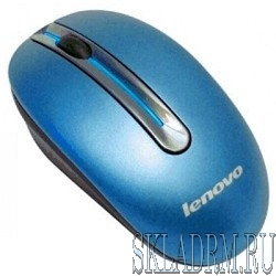 Lenovo N3903 [888013578] Wireless, Mouse, Coral Blue