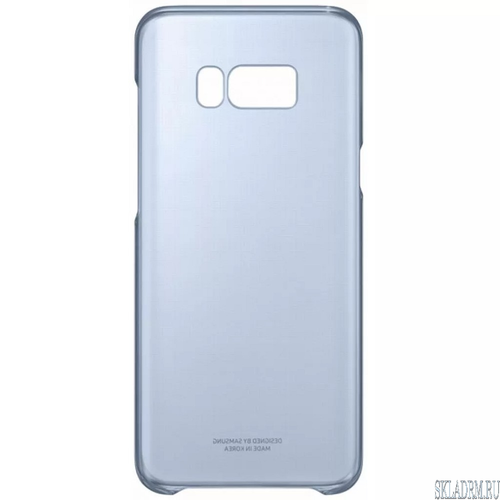Sam. чехол G955 ClearCover blue