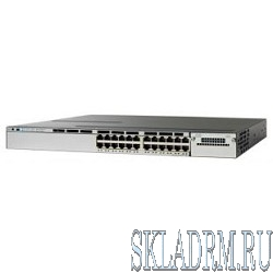 WS-C3850R-24T-L Cisco Catalyst 3850 24 Port Data LAN Base, Russia