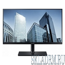 "LCD Samsung 23.8"" S24H850QFI черный {PLS LED 2560x1440 5ms 16:9 1000:1 300cd 170гр/160гр HDMI DisplayPort}"
