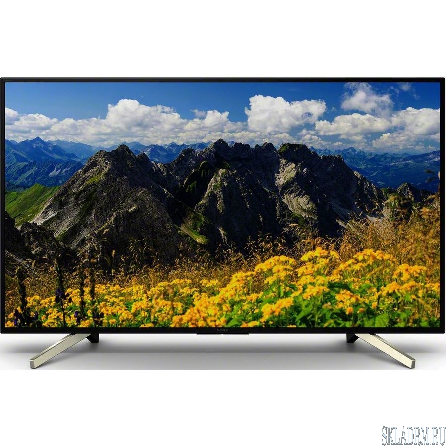 "Sony 55"" KD55XF7005BR2 черный/серебристый {Ultra HD/1000Hz/DVB-T/DVB-T2/DVB-C/DVB-S/DVB-S2/USB/WiFi/Smart TV}"