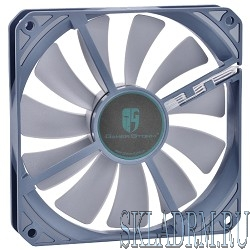Case fan Deepcool GS 120 RTL {120x120x20, 4pin, 18-32dB, 100g, antivibration low-noise}