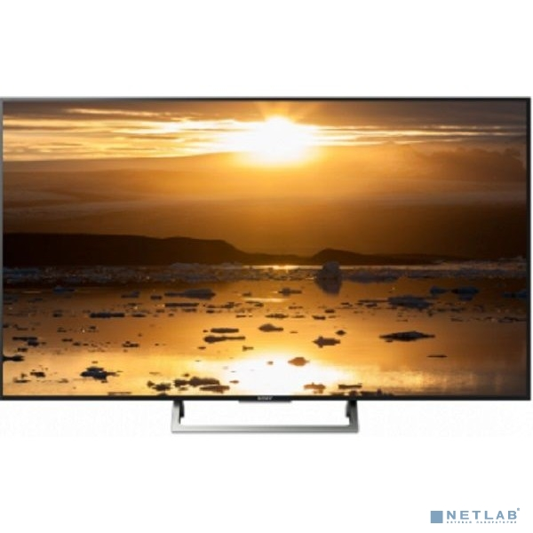 "Sony 49"" KD49XE7096(BR2) черный/серебристый {Ultra HD/400Hz/DVB-T/DVB-T2/DVB-C/DVB-S/DVB-S2/USB/WiFi/Smart TV}"
