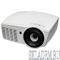 Optoma EH415 Проектор {DLP,WUXGA(1920x1200),4200 ANSI Lm,5000:1;2 x HDMI, 5BNC, Component IN, 2 x VGA, S-Video, Composit IN, VGA выход, RJ45}