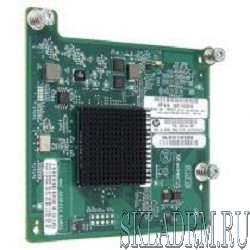 HP 651281-B21 QMH2572{ Host Bus Adapter, Qlogic-based, Fibre Channel mezzanine card, Dual port, 8Gb, for BL cClass Gen8}