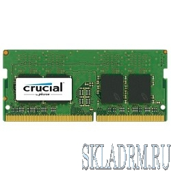 Crucial DDR4 SODIMM 16GB CT16G4SFD824A PC4-19200, 2400MHz