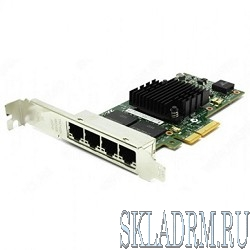 Intel Ethernet Server Adapter I350-T4V2 (I350T4V2, I350T4V2BLK)