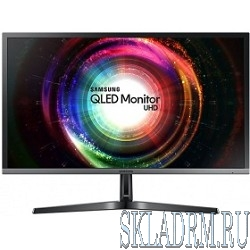 "LCD Samsung 27.9"" U28H750UQI черный {TN+film 3840x2160 1ms 60 Гц 16:9 1000:1 300cd 170гр/160гр DisplayPort HDMI*2}"