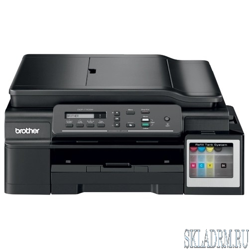 Brother DCP-T700W Ink Benefit Plus принтер/сканер/копир, A4, 11/6 стр/мин, ADF, 64Мб, USB, WiFi DCPT700WR1