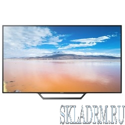 "Sony 32"" KDL32WD603 BRAVIA черный {HD READY/200Hz/DVB-T/DVB-T2/DVB-C/DVB-S/DVB-S2/USB/WiFi/Smart TV}"