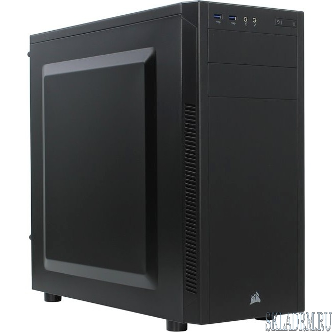 MidiTower Corsair Carbide 100R Silent Edition black w/o PSU CC-9011077-WW