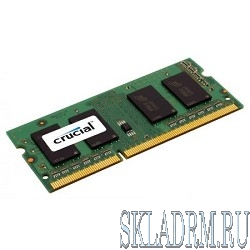 Crucial DDR3 SODIMM 4GB CT51264BF160B PC3-12800, 1600MHz, 1.35V