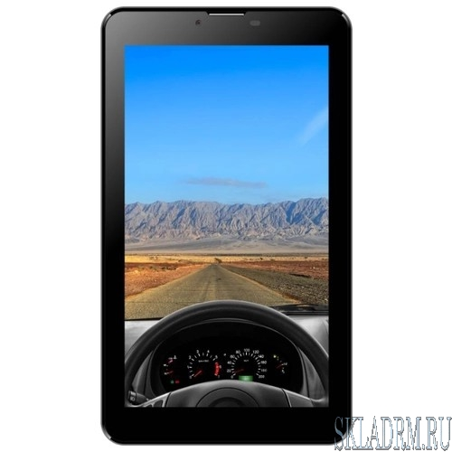 "IRBIS TZ777 [881744]{7"" (1024x600IPS), MTK8321 4x1,3Ghz (QuadCore), 1024MB, 8GB, cam 0.3MPx+2.0MPx, Wi-Fi, 3G (2xSimCard), Bluetooth, GPS, Android 7.0, microUSB, MicroSD, jack 3.5} Black"