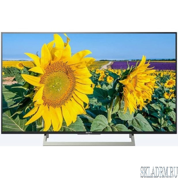 "Sony 49"" KD49XF8096BR2 черный/серебристый {Ultra HD/400Hz/DVB-T/DVB-T2/DVB-C/DVB-S/DVB-S2/USB/WiFi/Smart TV}"