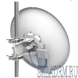 MikroTik MTAD-5G-30D3 mANT 30dBi 5Ghz Parabolic Dish antenna with standard type mount
