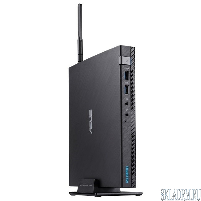 Asus Mini PC E520-B040M [90MS0151-M00400] black {i3-7100T/4Gb/500Gb/DOS}